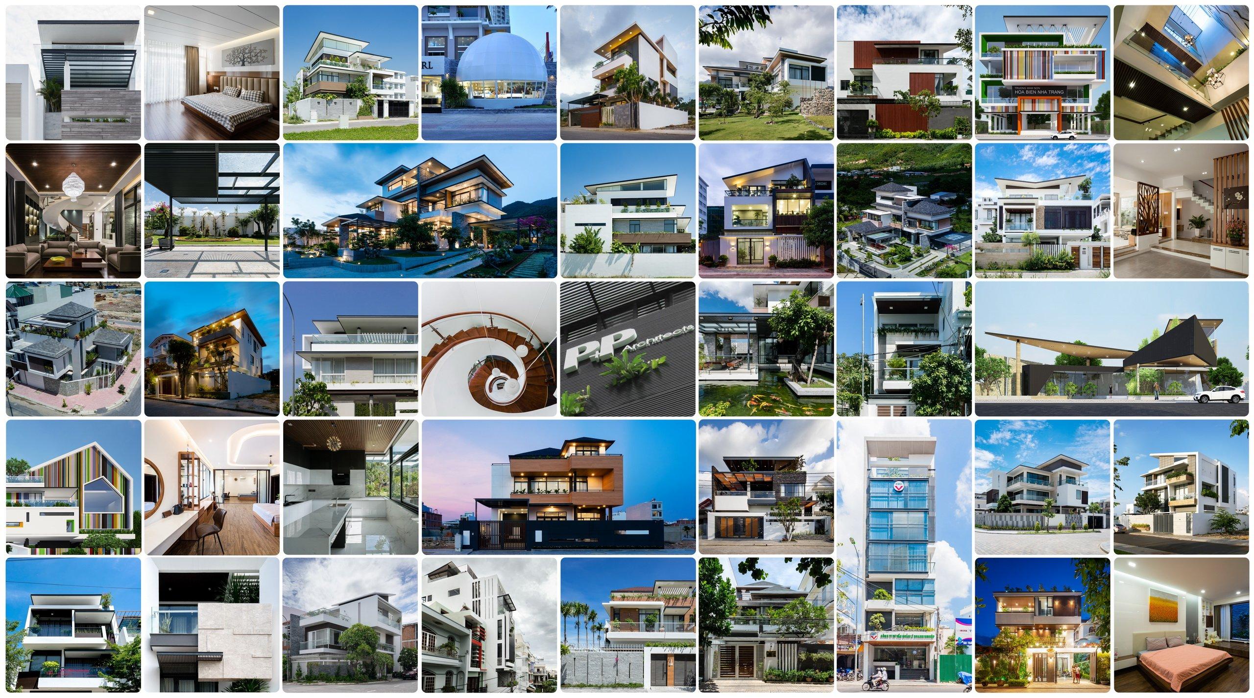 Thiết kế biệt thự Nha Trang - Kiến Trúc PP